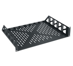 MID ATLANTIC 2-SP (2U) VENTED UTILITY SHELF U2V