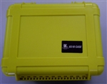 "UK WATERPROOF CASE C/W FOAM YEL (12X9X6"") UK6510"