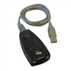 TRIPPLITE KEYSPAN USB TO SERIAL ADAPTER USA-19HS            RS232 PORT TO A SINGLE USB PORT 3FT CABLE INCLUDED