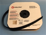 "VELCRO 1"" LOOP BLACK SELF ADHESIVE VL1CUT                   (23M = FULL ROLL)"
