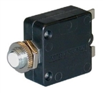 P&B 10 AMP PUSH TO RESET CIRCUIT BREAKER W58XB1A4A10        MAXIMUM VOLTAGE RATING : 50VDC / 250VAC