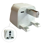 CIRCUIT TEST AC PLUG TRAVEL ADAPTER GREAT BRITAIN WA-7      3COND 3PIN