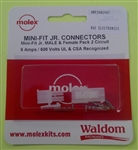 MOLEX 2-POLE LOCKING CONNECTOR PKG PANEL WMF3901PRT