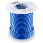 NTE 24AWG BLUE TEFLON HOOKUP WIRE (25 FEET) WT24-06-25      200C/600V SILVER PLATED COPPER/SPC