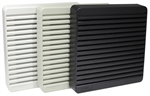 HAMMOND XPFA120GY 120MM FAN GRILL / FILTER KIT, ANSI 61 GRY *SPECIAL ORDER*