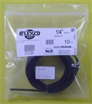 "TECHFLEX 1/4"" EXPANDABLE TUBING BLACK (10FT) ZFN0.25BK      FLEXO PET"