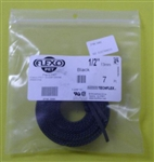 "TECHFLEX 1/2"" EXPANDABLE TUBING BLK (7FT) ZFN0.50BK         FLEX PET"