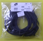 "TECHFLEX 1/4"" EXPANDABLE TUBING BLK (10FT) ZGN0.25BK        FLEXO F6 WRAPPABLE SPLIT STYLE"